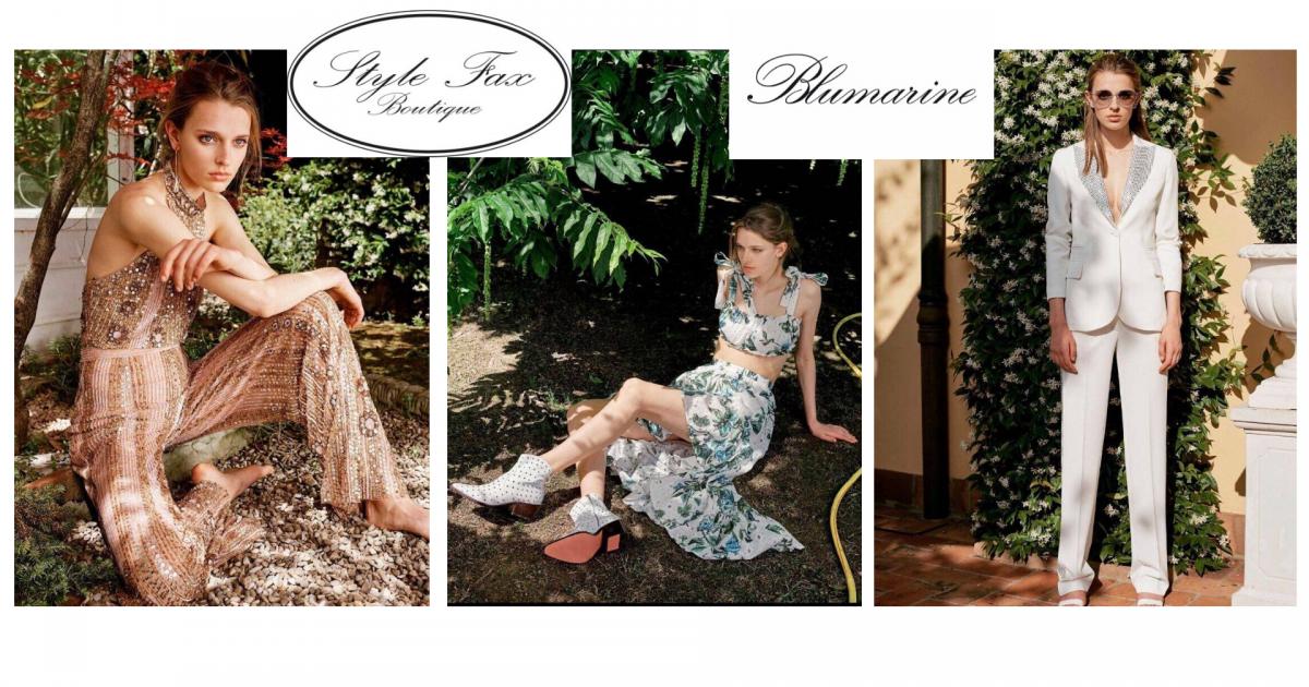 Stylefax Boutique - Blumarine Spring Summer 2020 Collection
